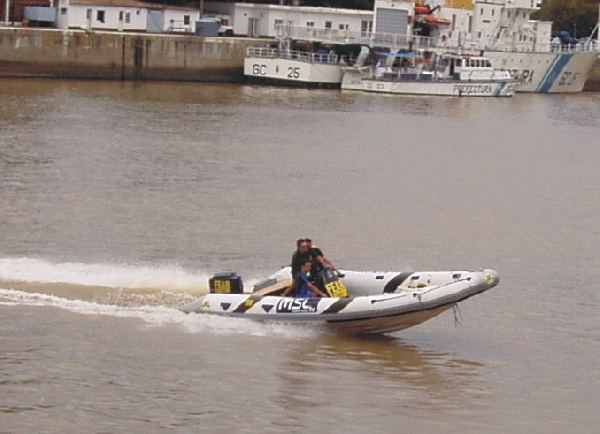 MOON 760 Sport Rigid hull Inflatable Boat offshore