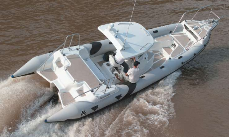 MOON NAV III 900 Minicab Ocean Offshore rigid inflatable boat