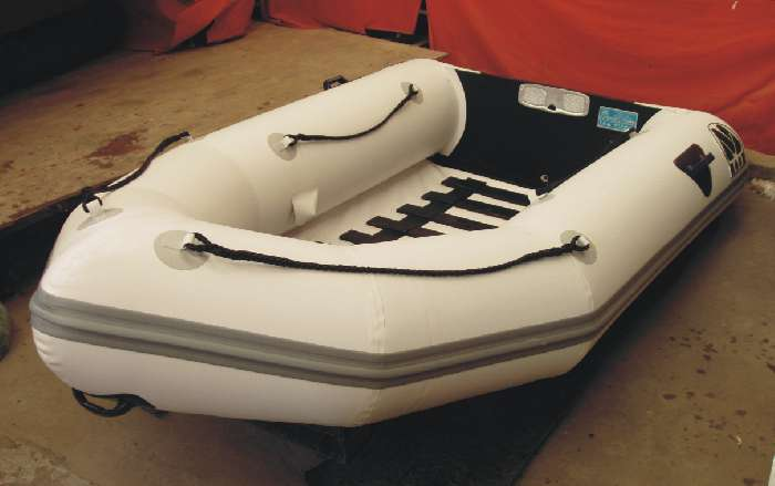 tender MOON 260 and 310 Roll Up Inflatable Boat. Foldable Dinghies