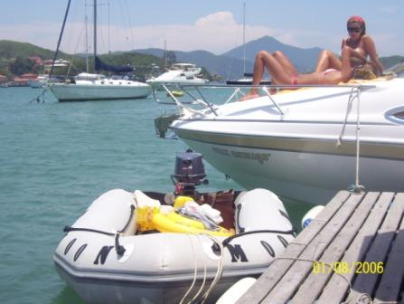 tender MOON 310 Roll up inflatable boats dinghies. Gomones Enrollables 310 brasil