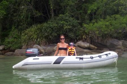 MOON 310 Roll up inflatable boats dinghies. Gomones Enrollables 310 brasil
