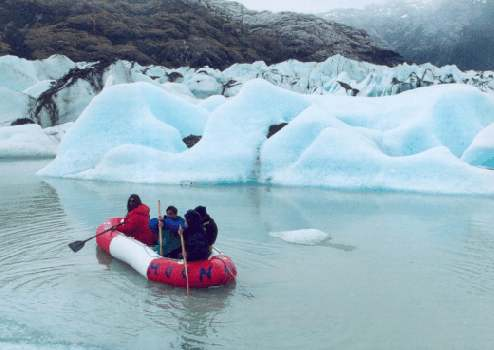Trip to Skyring Shelter in Magallean Region Navigation in Glaciars Patagonia Adventure Tourism